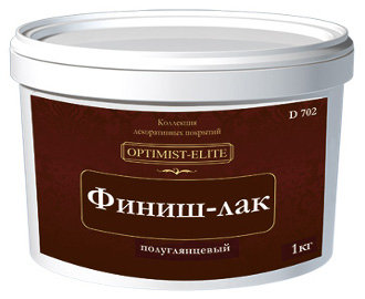 "Лак финишный D702 (3кг) ТМ ""OPTIMIST-ELITE"""